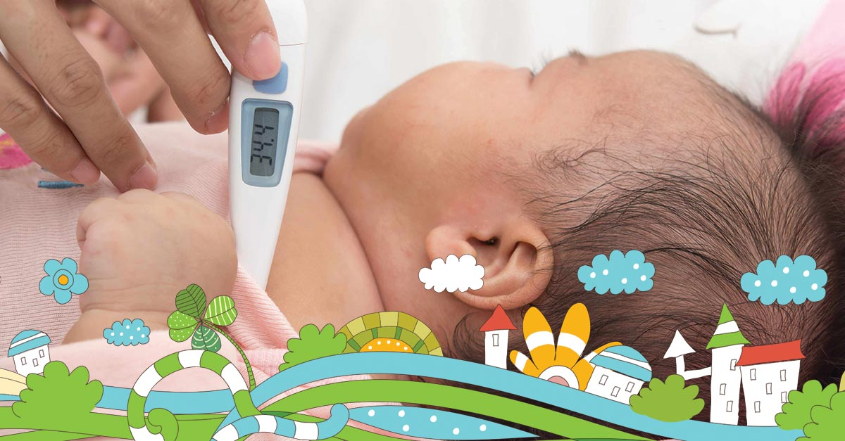 Povišena telesna temperatura beba