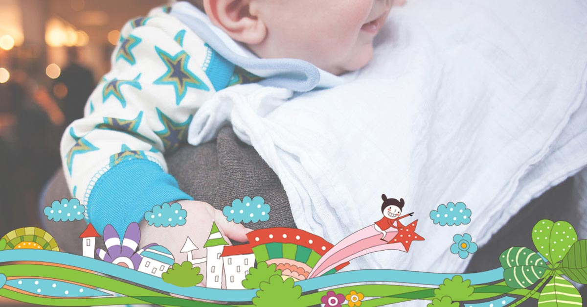 Podrigivanje bebe nakon podoja
